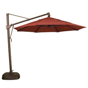 11' cantilever patio umbrella - treasure garden sunbrella