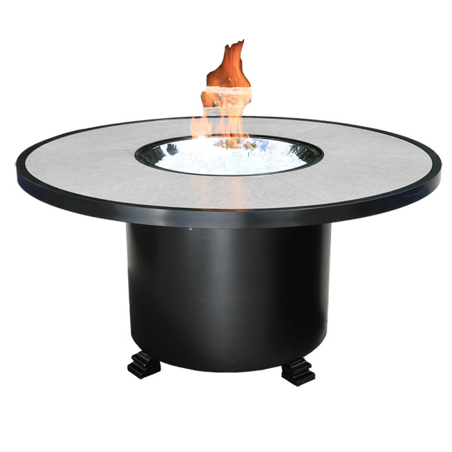Gramercy 48 Quot Round Fire Pit Patio Furniture At Sun Country