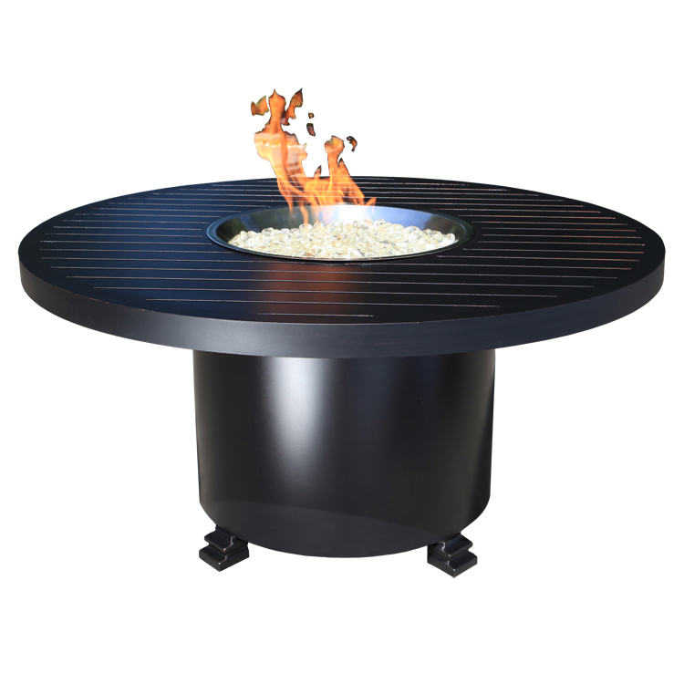 Monaco 50 Quot Round Fire Pit Patio Furniture At Sun Country