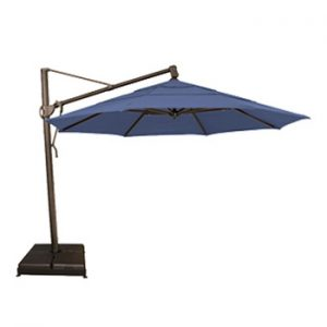 Cantilever Umbrellas - 13 ft side post with sunbrella fabric