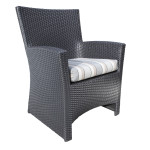 Contemporary Outdoor Wicker Dining Chair - Patio Furniture in Toronto