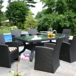 Contemporary Outdoor Wicker Dining Patio Furniture in Toronto