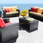 Sun Country features Stylish Modern Outdoor Wicker Patio Furniture - Bimini Seating Collection