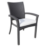 Luxurious Outdoor Resin Patio Furniture - Chorus Wicker Dining Chair