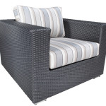 Luxurious Outdoor Wicker Garden Furniture in Toronto - Chorus Deep Seating Wicker Chair