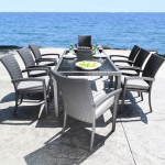 Outdoor Resin Wicker Dining Patio Furniture in Toronto