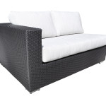 Contemporary Outdoor Resin Wicker Sectional Patio Furniture