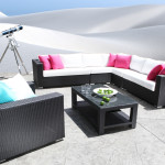 High End Modern Outdoor Wicker Patio Furniture - Outdoor Sectional