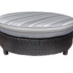 High End Modern Outdoor Wicker Patio Furniture Ottoman in Toronto