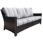 Contemporary Sofa made of Outdoor Resin Wicker