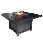 Aluminum Outdoor Fire Pit Square