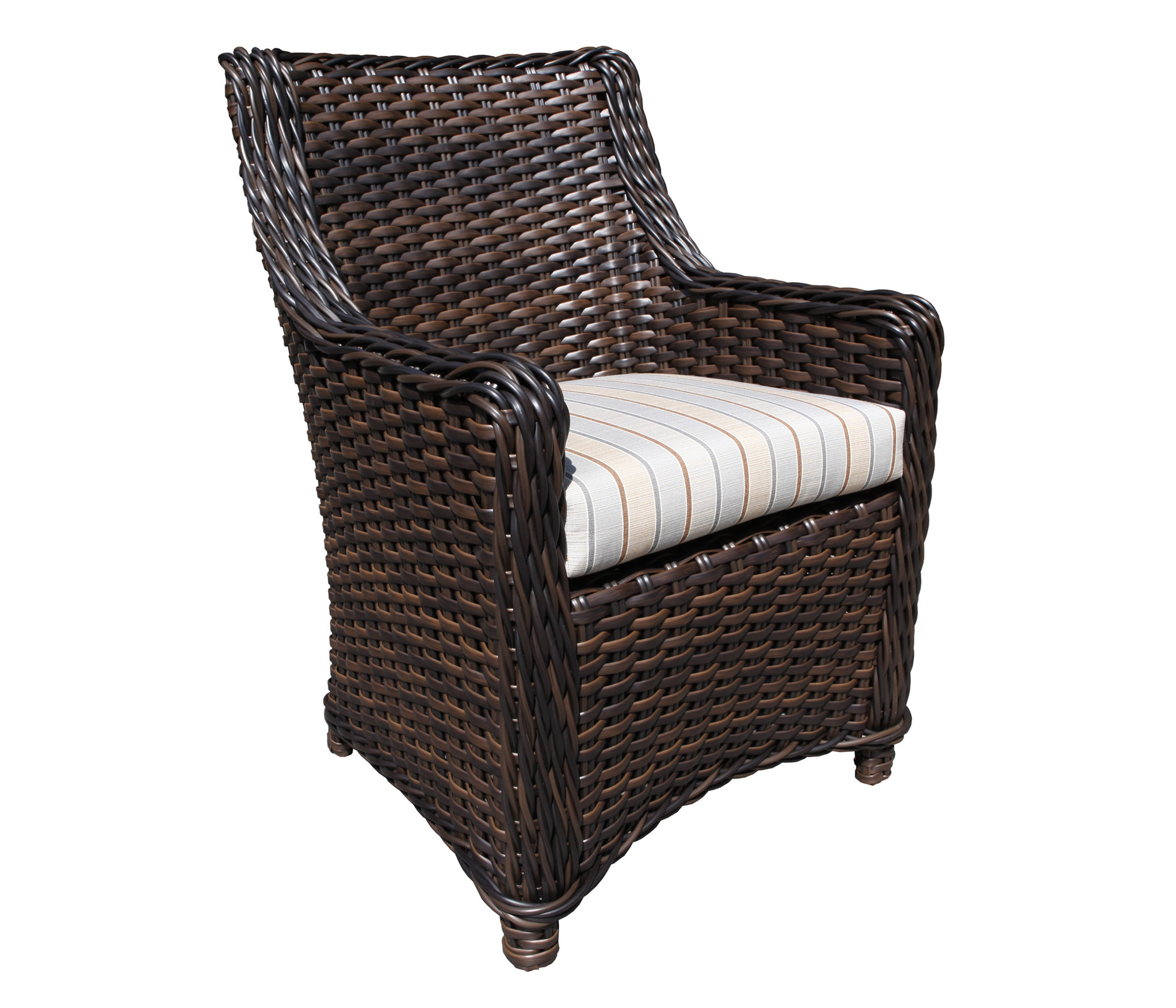 Nevada Wicker Dining Chair Patio Furniture At Sun Country
