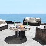 Contemporary Outdoor Wicker Patio Furniture Seating in Toronto