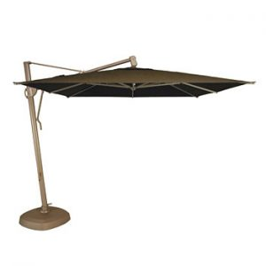 10 ft. square side post umbrella