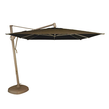 Cantilever Umbrella 10 Ft Square Side Post