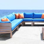 Elegant Cast Aluminum Sectional Patio Furniture