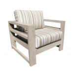 Aura Chair - Modern Designer Cast Aluminum Patio Furniture