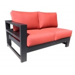 Modern Contemporary Cast Aluminum Patio Furniture - Aura Sectional