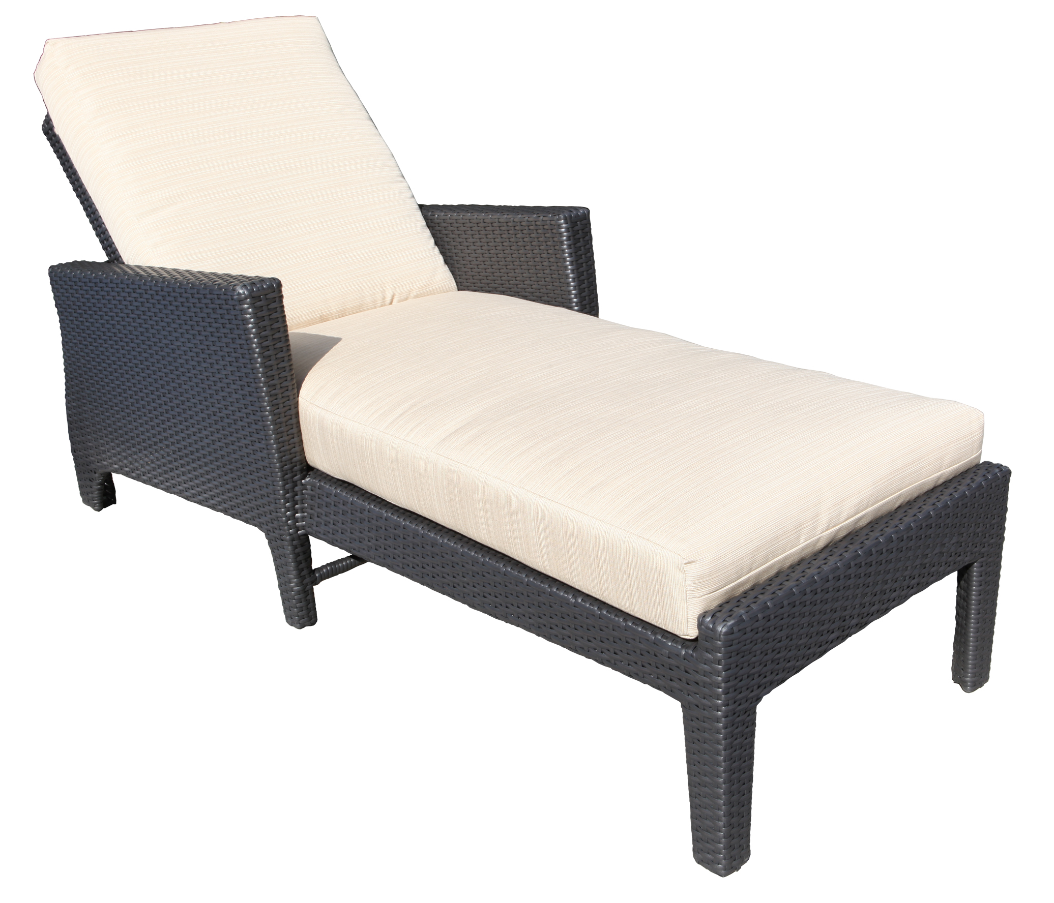 Outdoor Patio Furniture Toronto: Bimini Wicker Deep Seating Chaise Lounge