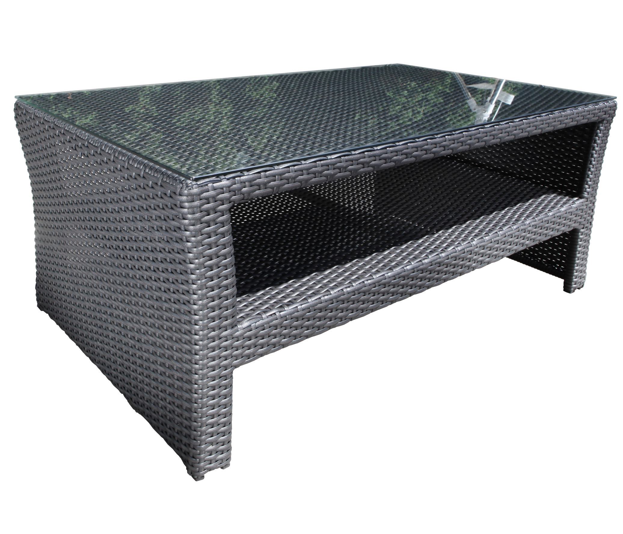 Bimini Wicker Deep Seating Coffee Table Patio At Sun Country
