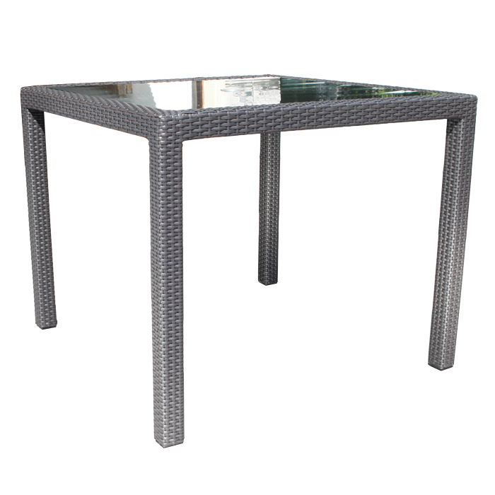 Chorus Wicker Dining 36 Quot Square Table Patio Furniture At