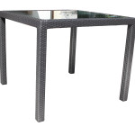 Contemporary Dining Outdoor Resin Wicker Patio Furniture