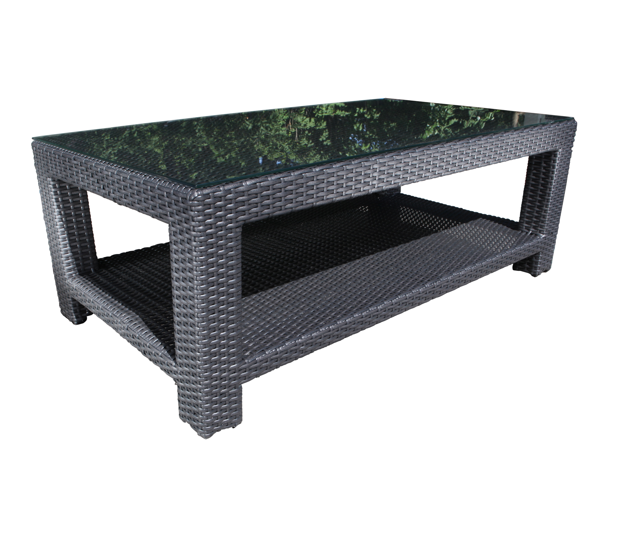 Chorus Deep Seating Wicker Coffee Table Patio At Sun Country