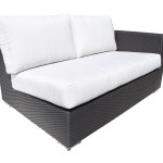 Contemporary Outdoor Wicker Patio Furniture Sectional