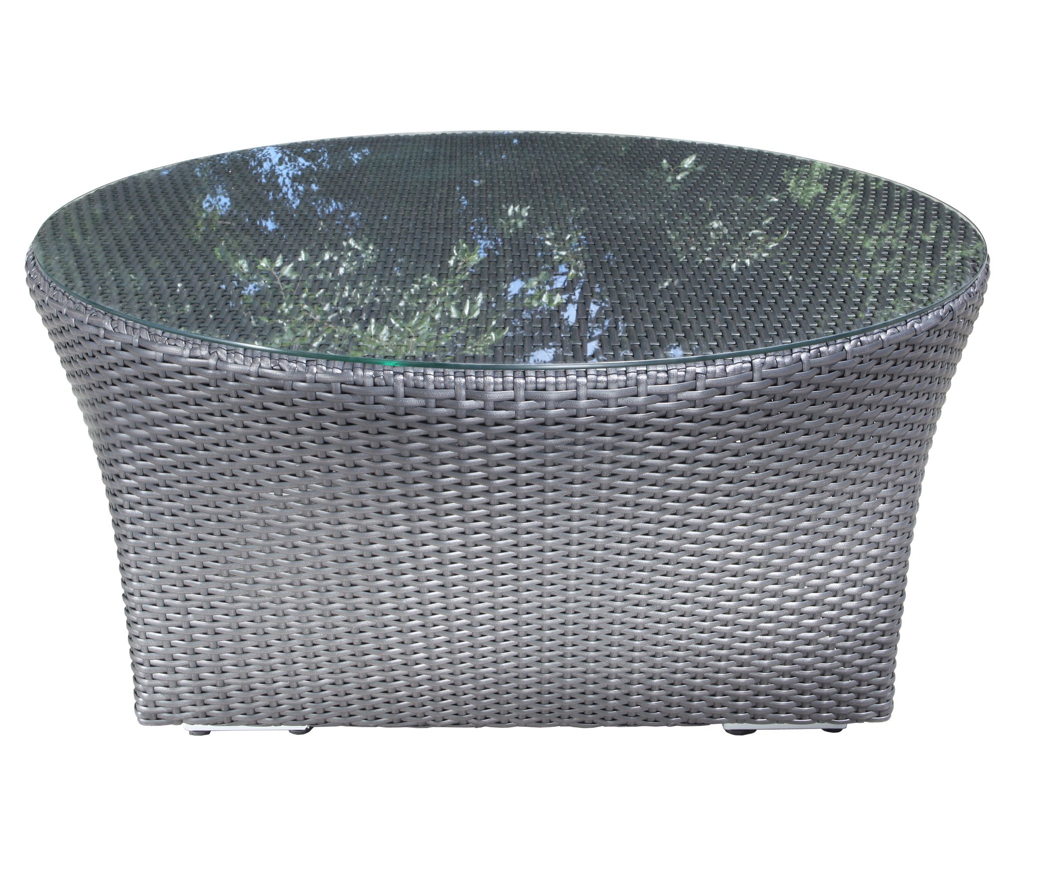 Chorus Curved Wicker Round Coffee Table Patio At Sun Country