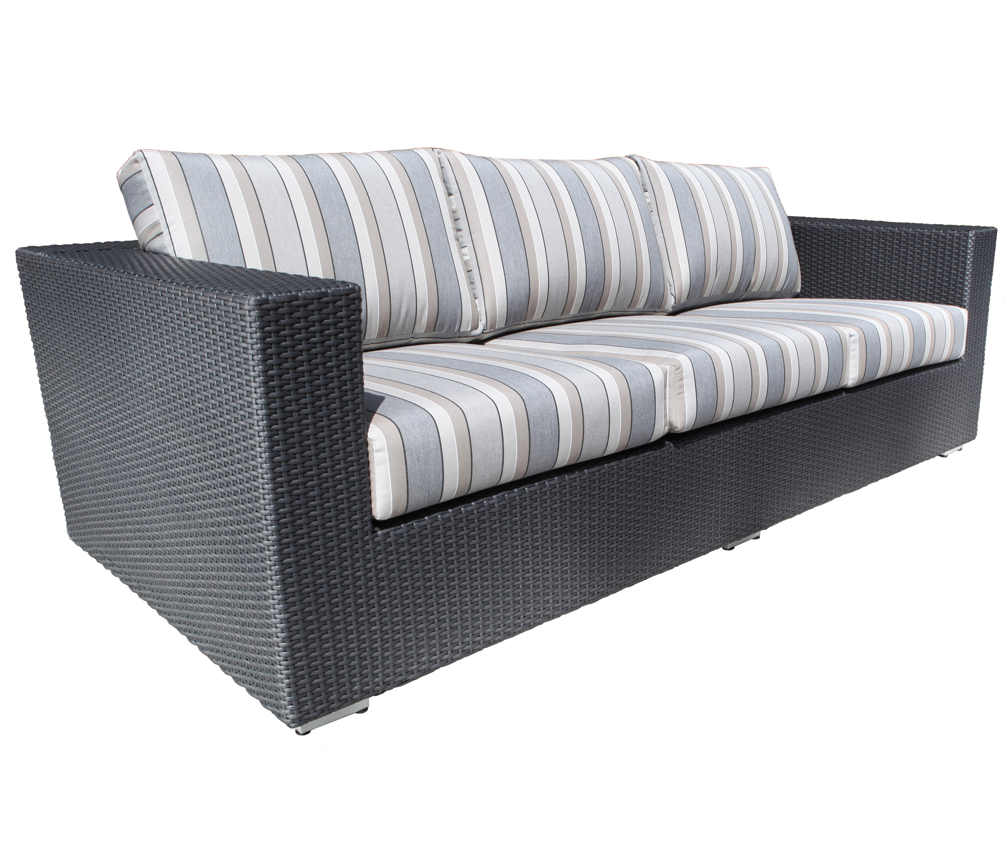Chorus Deep Seating Wicker Sofa Patio Furniture at Sun Country