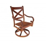 Elan Swivel - Modern Contemporary Cast Aluminum Patio Furniture
