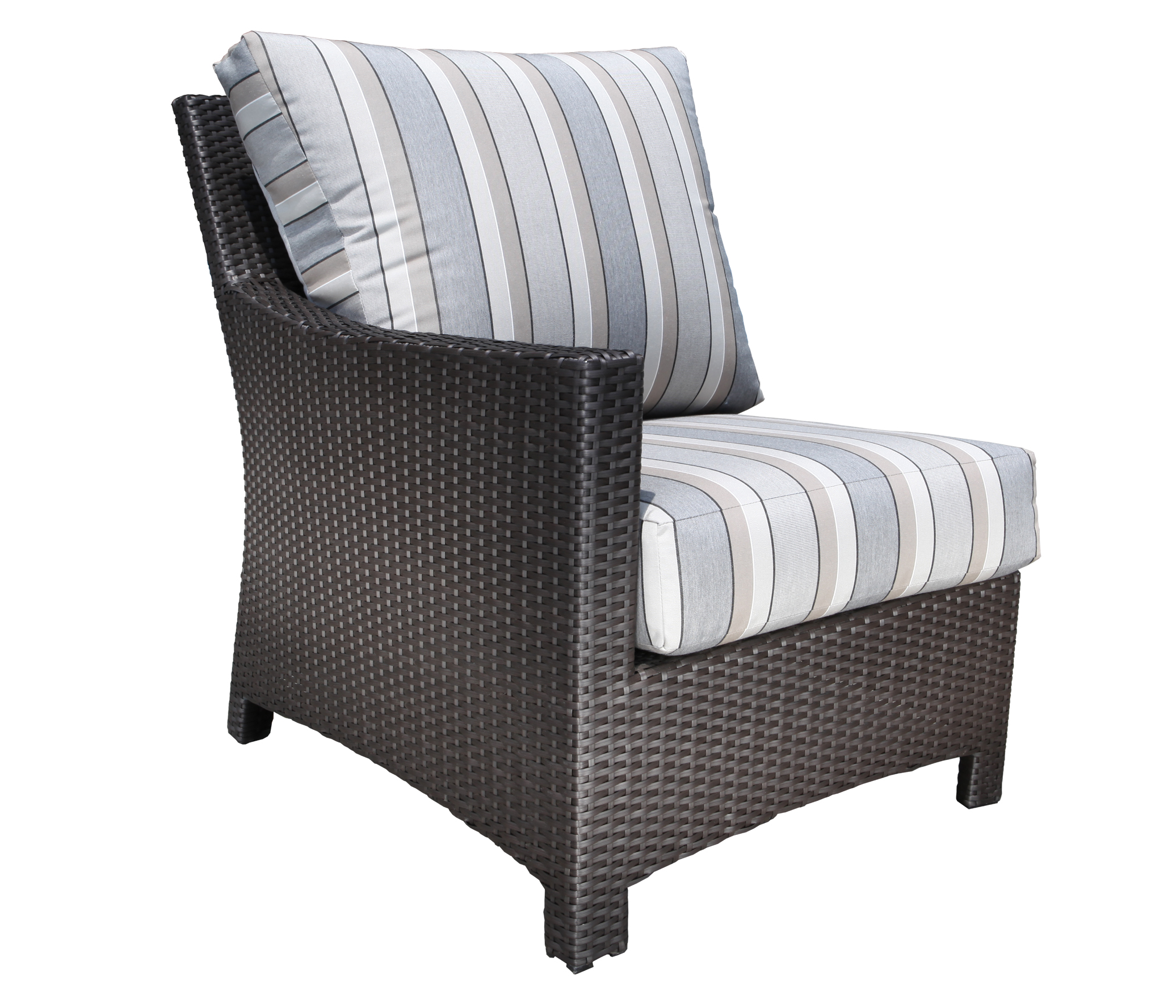 Flight Wicker Sectional Left Module Patio Furniture At