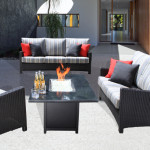 High End Modern Outdoor Wicker Patio Furniture - Flight Collection