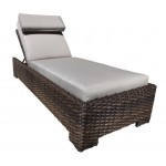Chaise Lounge - Nice Modern Outdoor Wicker Patio Furniture