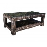 Contemporary Outdoor Resin Wicker Patio Furniture - Louvre