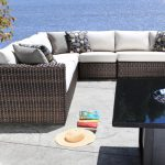 Sectional Modern Outdoor Wicker Patio Furniture