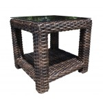 Luxurious Outdoor Wicker Garden Furniture - End Table