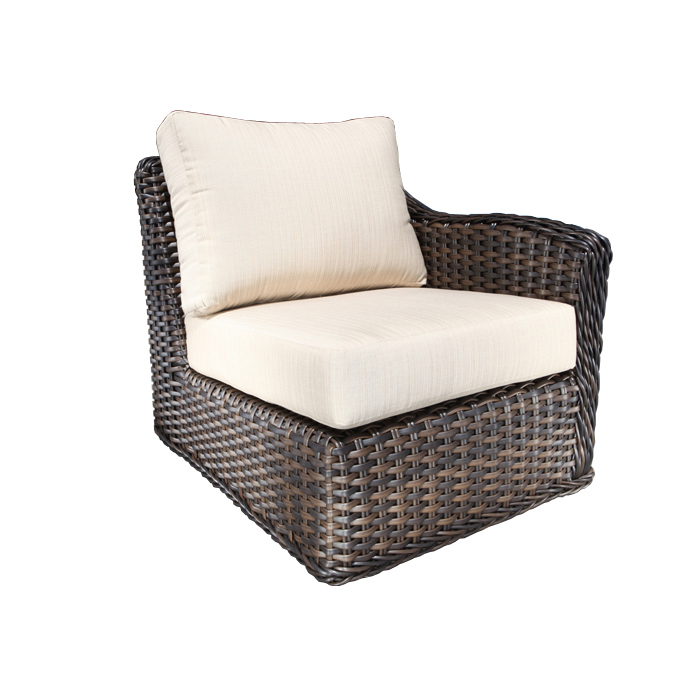 Nevada Wicker Sectional Right Module Patio Furniture At