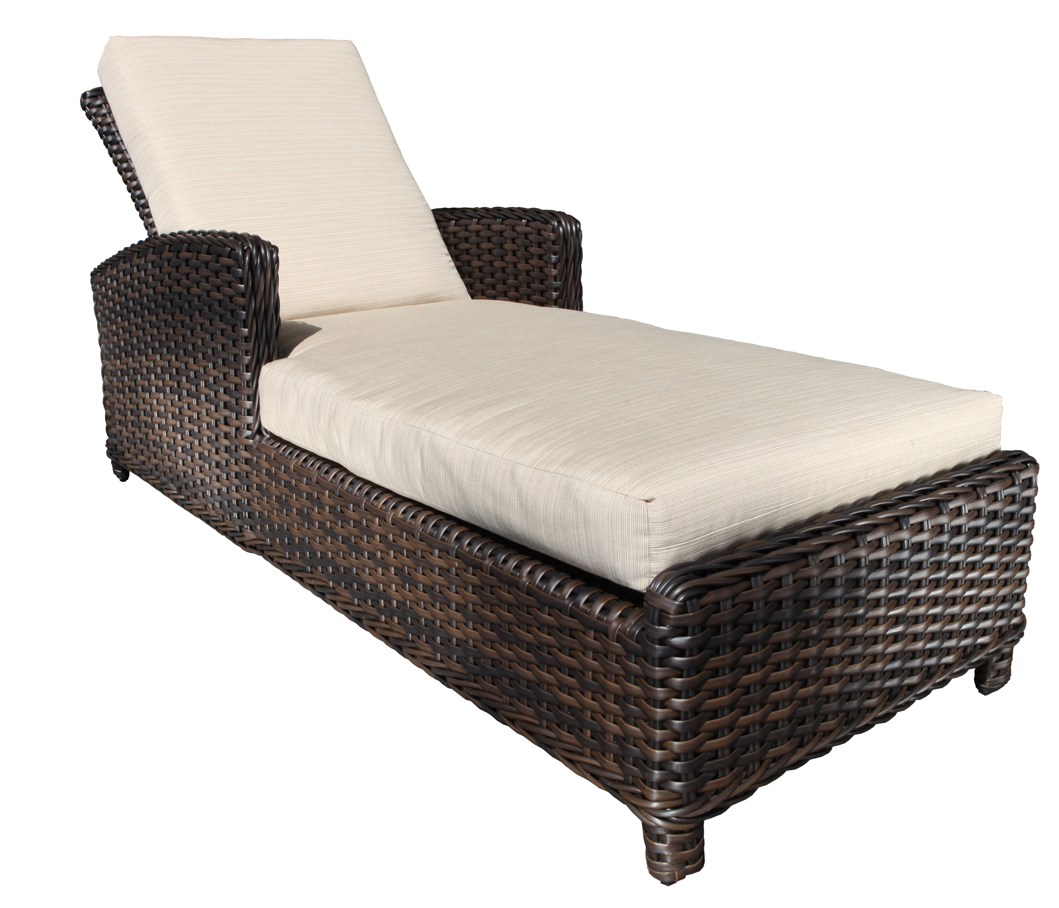 Nevada Wicker Deep Seating Chaise Lounge Patio At Sun