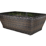 Outdoor Resin Wicker Patio Furniture - Nevada Coffee Table