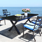Modern Designer Cast Aluminum Patio Furniture