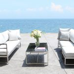 Stainless Steel Patio Furniture - Soho Seating Collection