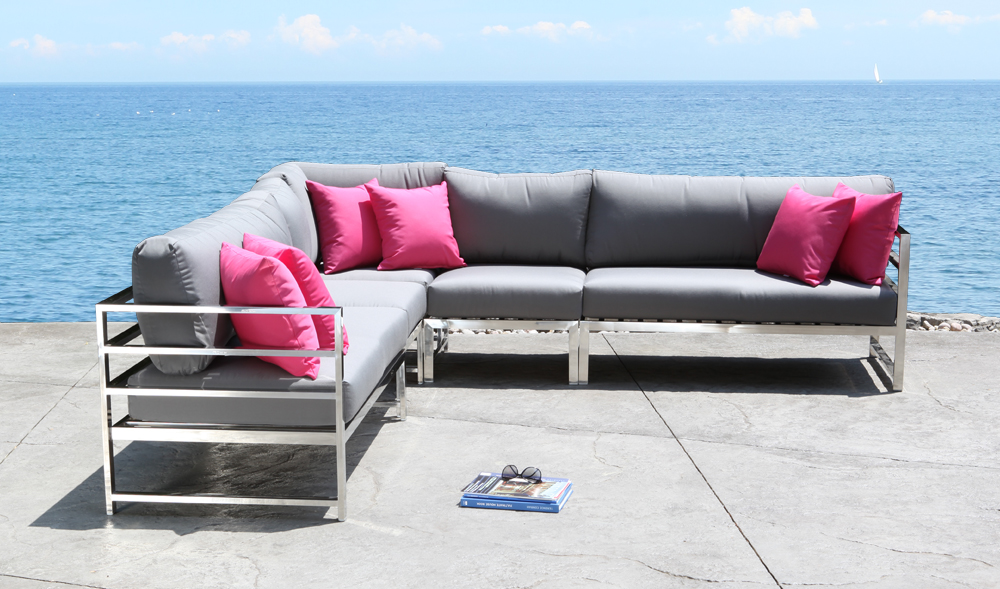 Soho Stainless Sectional