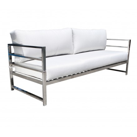 Soho Stainless Deep Seating Sofa Patio Furniture At Sun