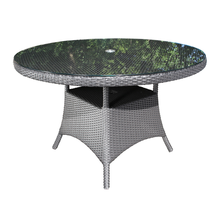 Fabulous Solano Round Wicker 48 Dining Table Download Free Architecture Designs Photstoregrimeyleaguecom