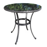 High End Modern Outdoor Wicker Patio Furniture - Solano Dining Table