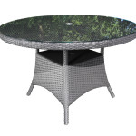 Outdoor Resin Wicker Patio Furniture - Dining Table