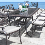 Classic Look From Contemporary Cast Aluminum Patio Furniture