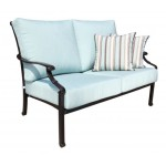 Verona Aluminum Patio Furniture - Sofa