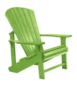recycled plastic adirondack chair kiwi